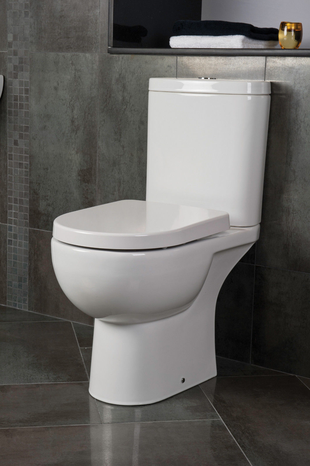 Chair Height Toilets Rak Tonique Open Back Comfort Height Toilet Inc Soft