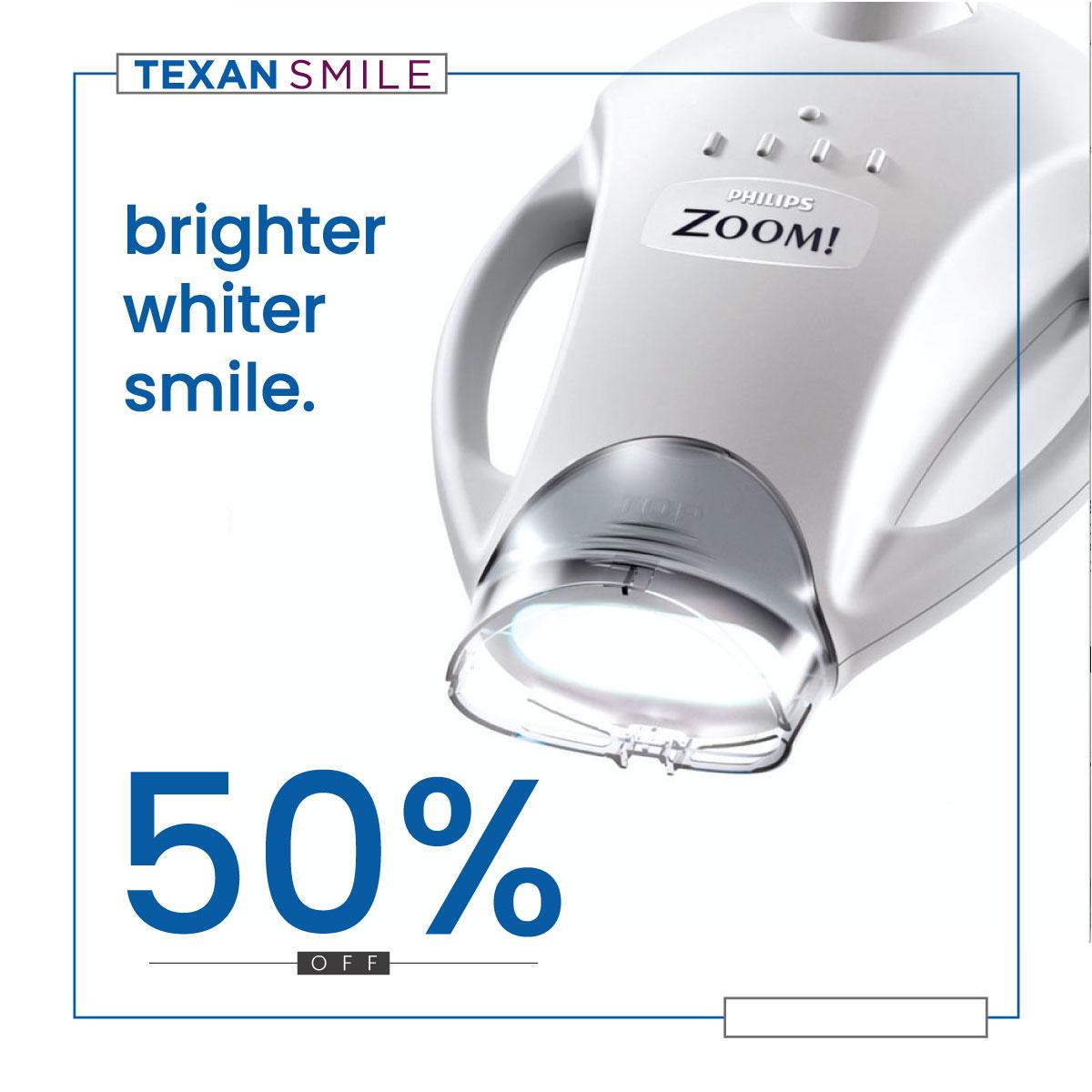 Texan Smile Sugar Land Dentist 77479 Zoom Half Off