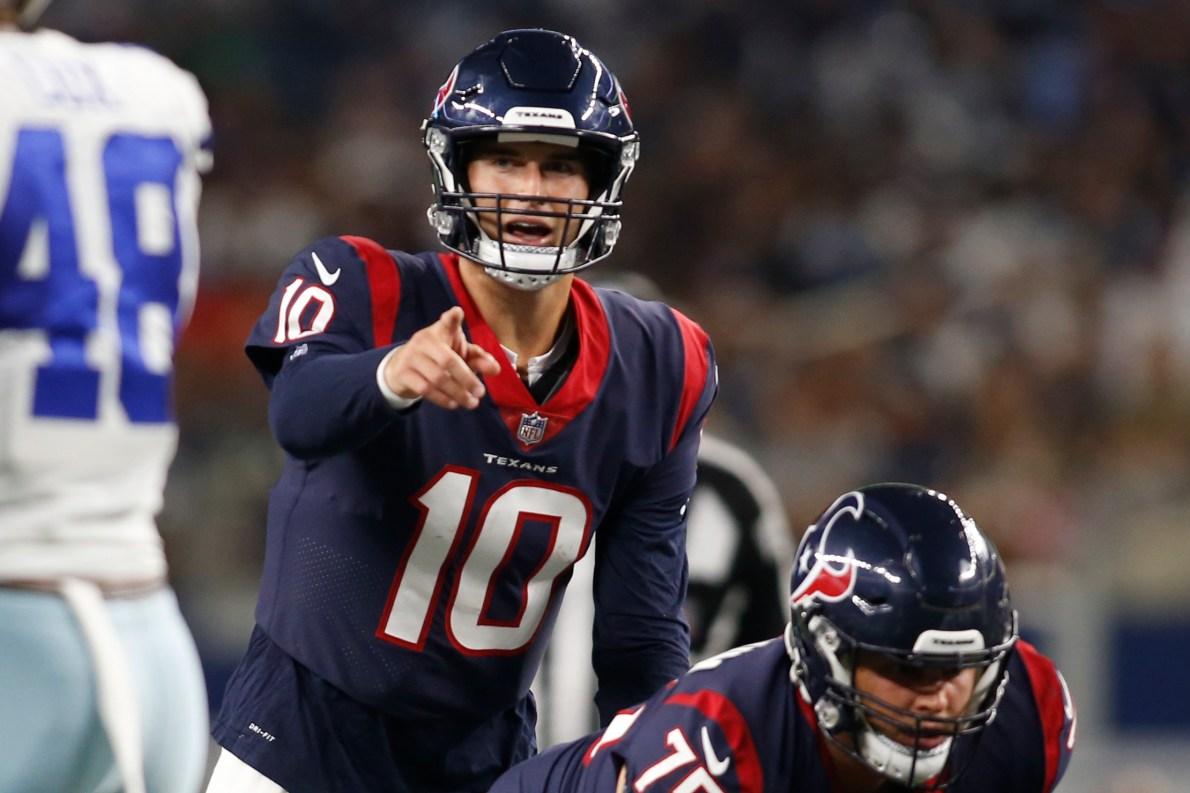Texans' David Culley: Davis Mills will start at QB vs. Panthers