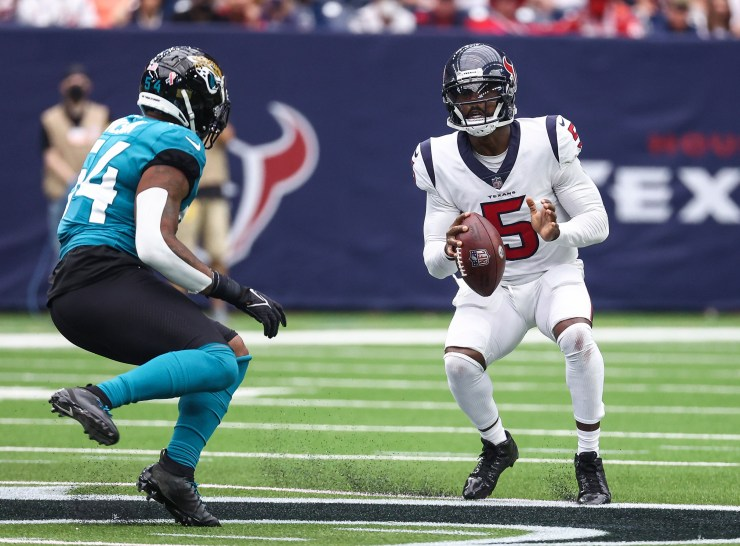 Tyrod Taylor proved vs. Jaguars he can be Texans' Plan A at QB