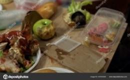 Left-Over Food. Left-Over Dreams. Left-Over White Trash King!