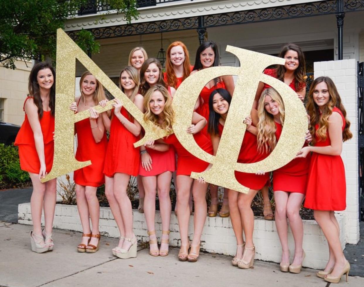 31ebf3d3793 2015 Texas Alpha Phi Executive Board. Our eighth annual Red Dress Gala ...