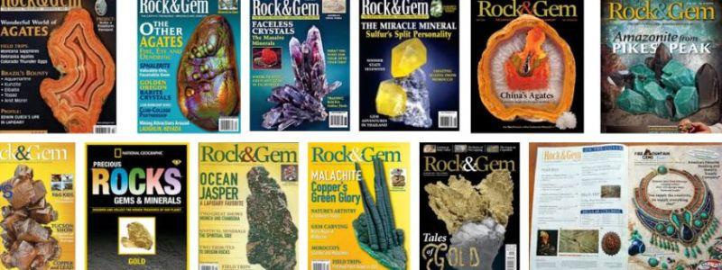 Rock & Gem Magazine!