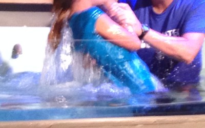 My Daughter was baptized today…