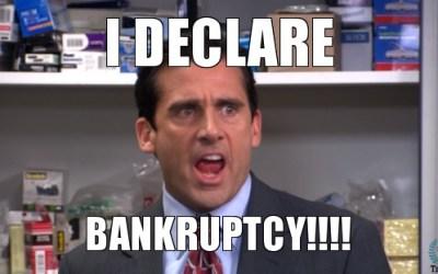 Bankruptcy Sucks!   It REALLY Sucks!   It sucks SO BAD!!!