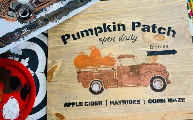 diy pumpkin patch sign