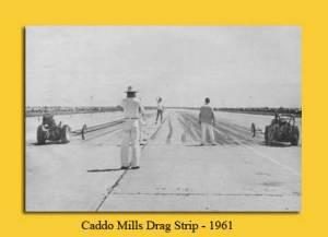 Caddo Mills Drag Strip 1961