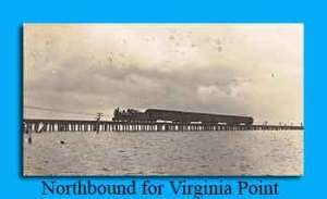 Northbound Train for Virginia Point