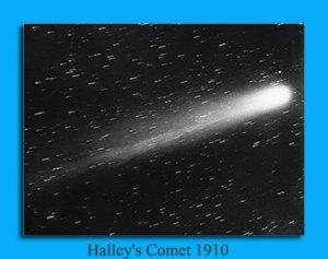 Halley's Comet 1910
