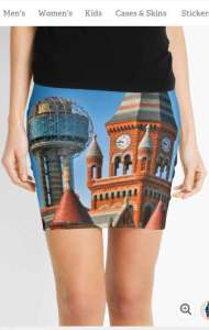 Dallas Old and New Pencil Skirts