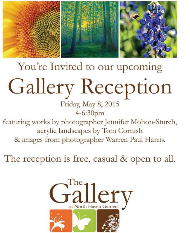 North Haven Gallery Art Show Invite