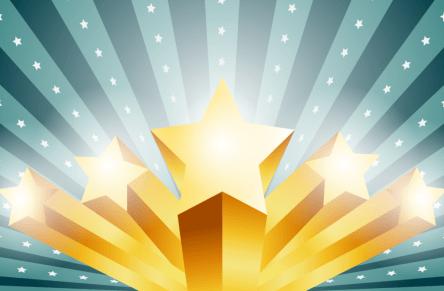 TBWA Stars of Weaving Illustration - stock image