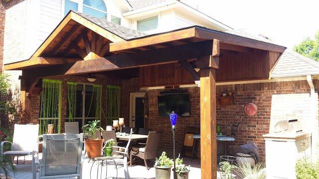 Patio Covers Texas Best Stain