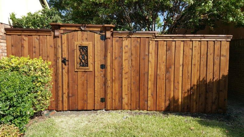 Wood Gates  Texas Best Stain