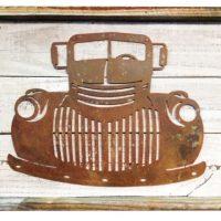 Little Cowboy Rustic Metal Wall Art