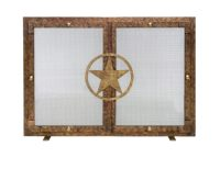 Lone Star Fireplace Screen | Texas by Texans | made in Texas