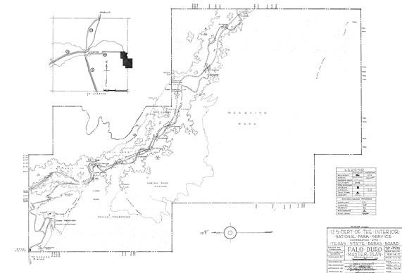 TPWD Item: Master Plan, Palo Duro Canyon State Park