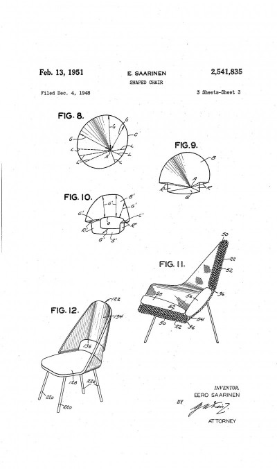 chair design patent baby booster texas ceo magazine how u s law shapes american eero saarinen figures 8 12 of us utility