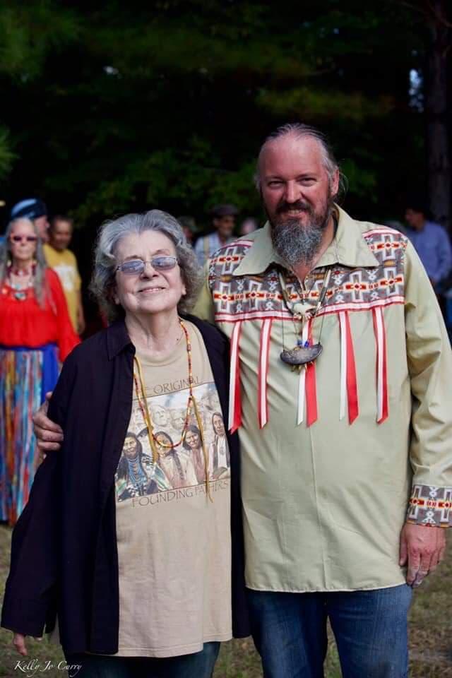 Chief William Hoff - Crazy Bear (Nuda Yonv), is our Adawehi for the Tsalagiyi Nvdagi Tribe
