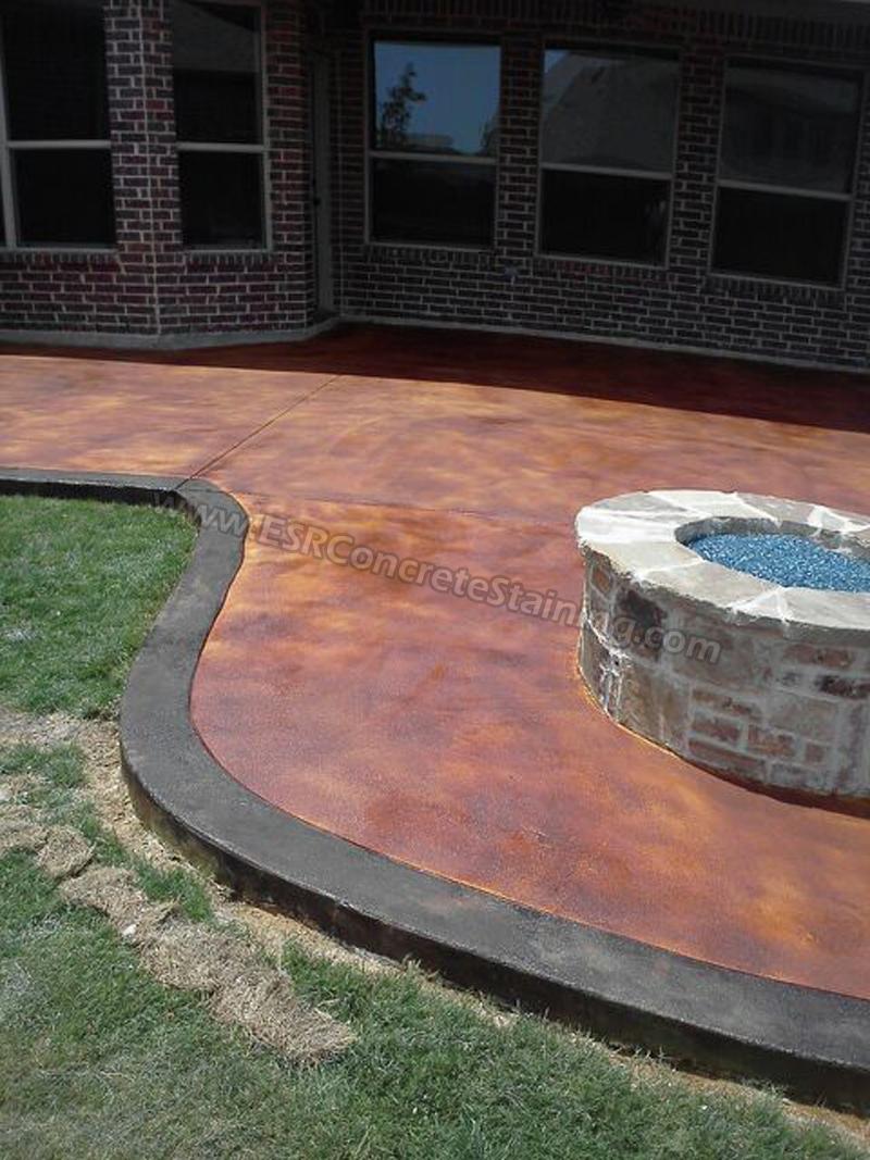 concrete staining trophey club tx1
