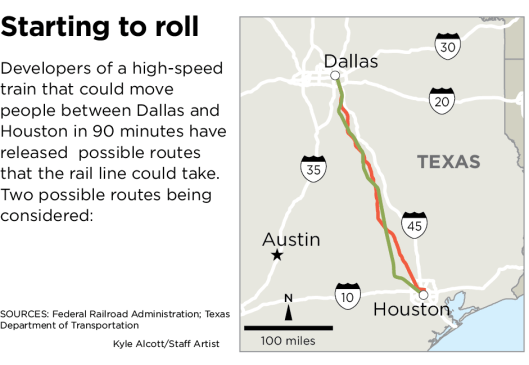 Graphic courtesy of The Dallas Morning News