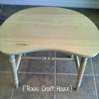 DIY Fabric Covered Vanity Stool or Chair | Texas Craft House