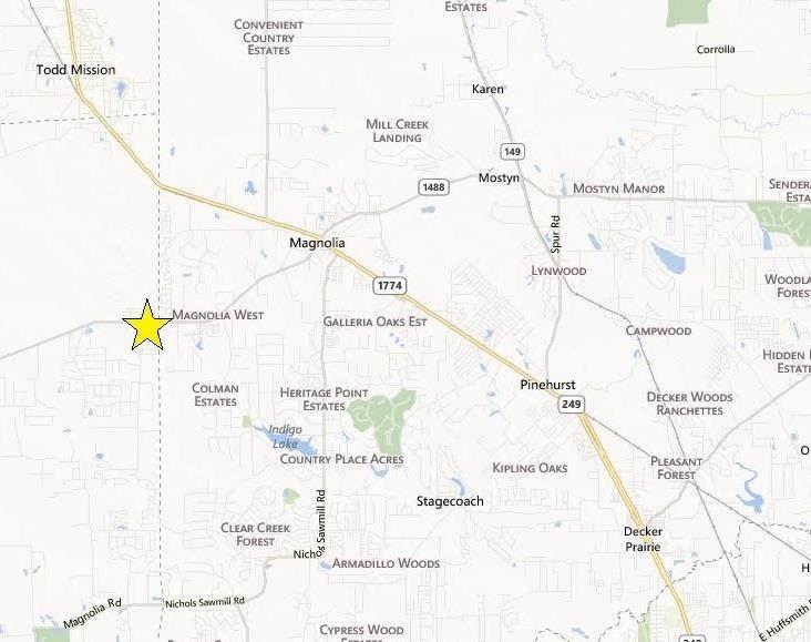 LAND FOR SALE FM 1488 at Joseph Road Magnolia, TX 77355