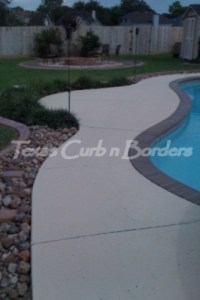 Concrete Cleaning Texturing & Staining After Image