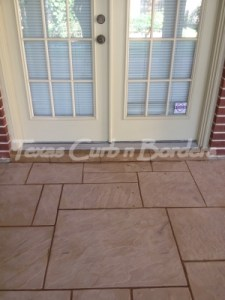 Concrete Staining Color Restoration Before Image