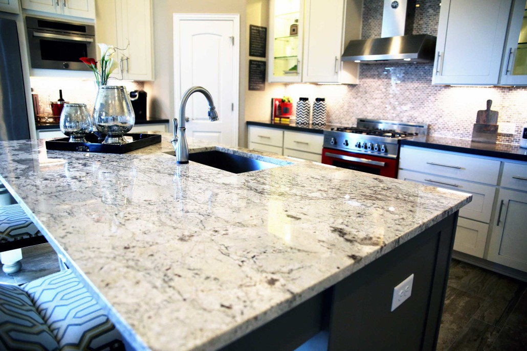 gold kitchen aid range hood – texas custom granite