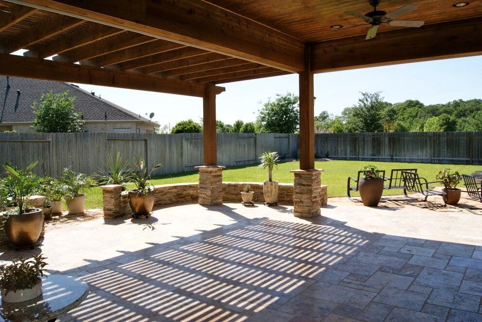 Heritage GrandCinco Ranch Outdoor Living Room Texas Custom Patios