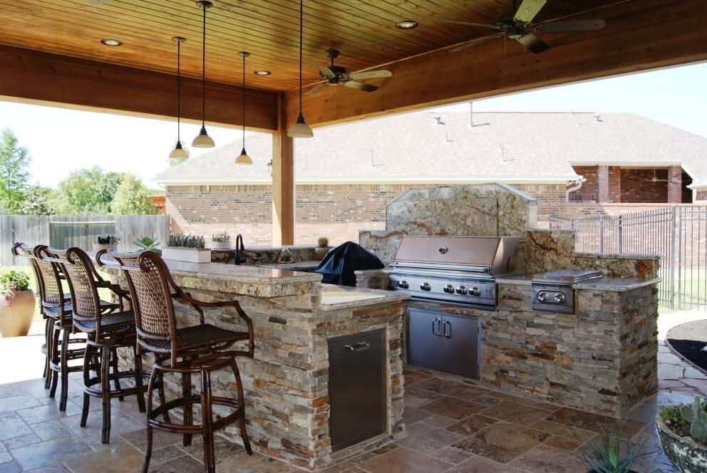 Heritage GrandCinco Ranch Outdoor Living Room  Texas