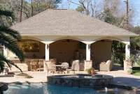 North Houston Pool Cabana - Texas Custom Patios