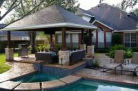 Missouri City Freestanding Patio Cover - Texas Custom Patios