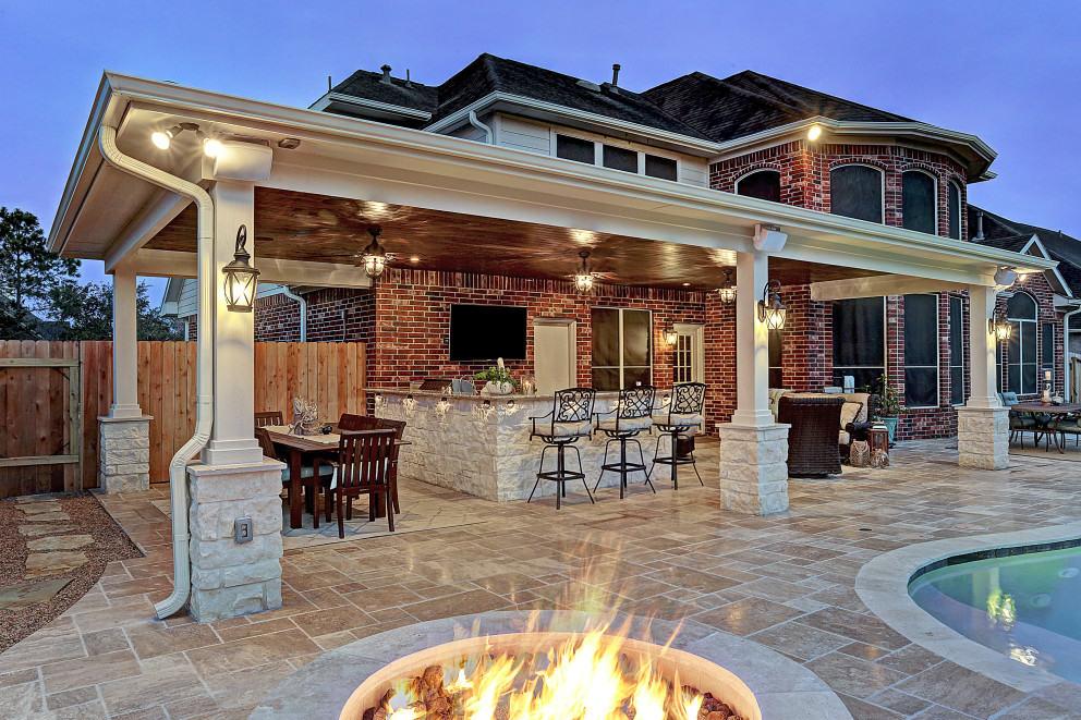 Outdoor Living Room Design, Houston, Dallas, Katy