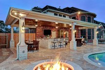 Friendswood Outdoor Living Space - Texas Custom Patios
