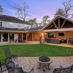 Outdoor Kitchens Houston Kitchen Sets For Sale Living And Remodeled Garage In West Memorial ...