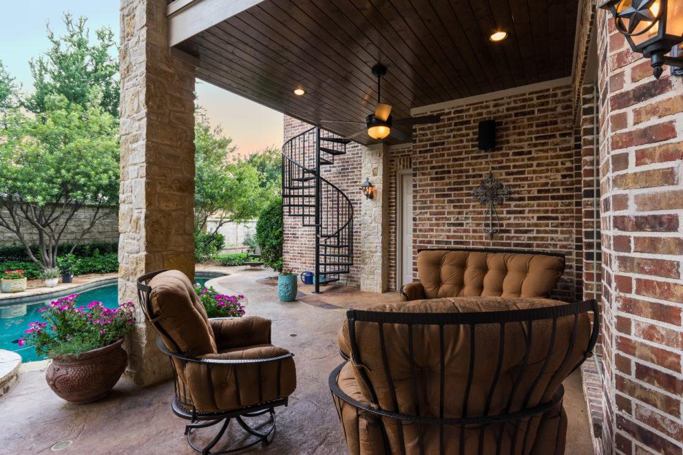 frisco texas custom patios