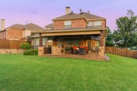 Patio Cover and Outdoor Kitchen in McKinney - Texas Custom ...