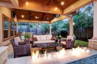 Memorial Area Outdoor Living Space - Texas Custom Patios