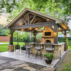 Outdoor Kitchen Ideas For Small Spaces Laminate Countertops Project Of The Month September 2017 Texas Custom Patios