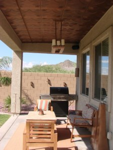 How to Choose a Finish for Your Patio Ceiling  Texas