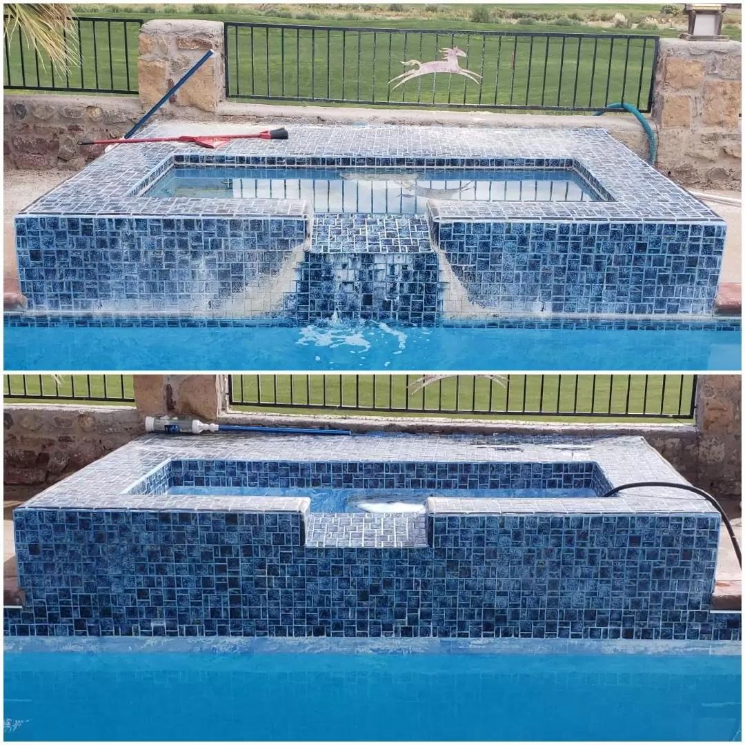 pool tile cleaning in el paso
