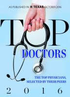 Houston Top Doctors Award 2016