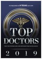 Houston Top Doctors Award 2019