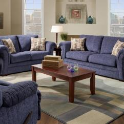 Navy Microfiber Sofa Beds Sofas Oversized Sectionals