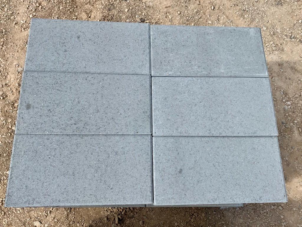 concrete pavers pewter gray 12 24 price piece