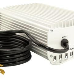 home lighting sun system 1 de etelligent compatible 1000 watt electronic ballast 480 volt [ 2400 x 1407 Pixel ]