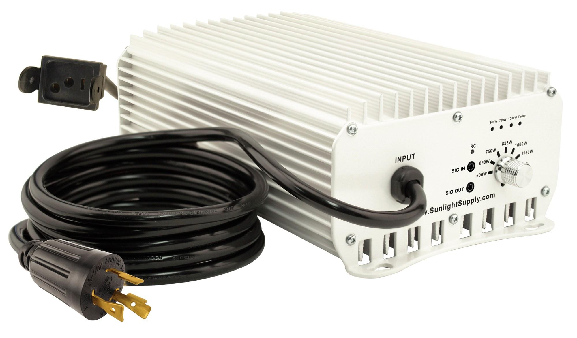 hight resolution of home lighting sun system 1 de etelligent compatible 1000 watt electronic ballast 480 volt