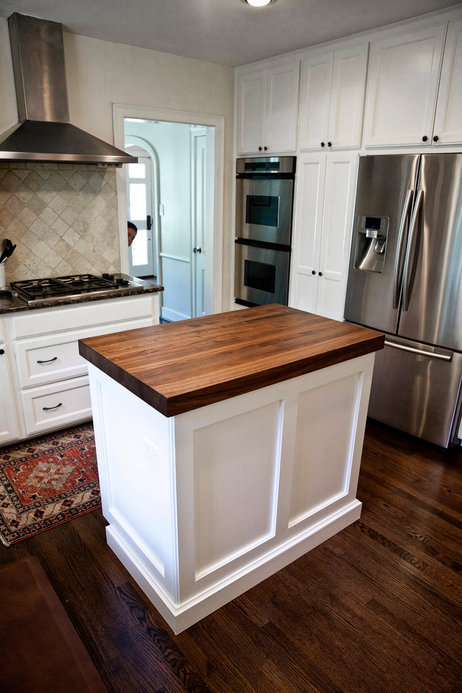 Walnut Kitchen Island Counters in West University  Texas
